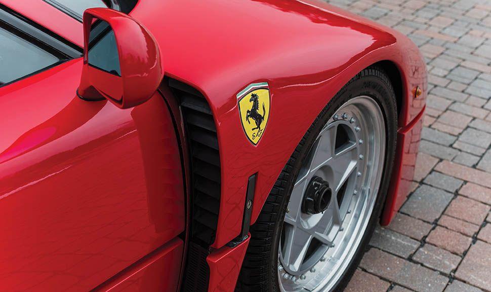 Ferrari F40 Detailaufnahme