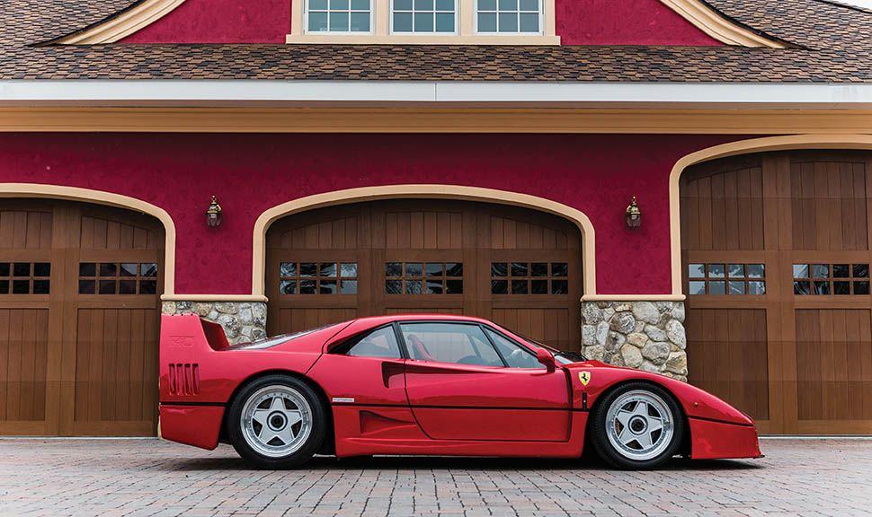 Ferrari F40 Seitenansicht rechts