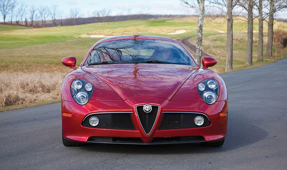 Alfa Romeo 8C Competizione frontal