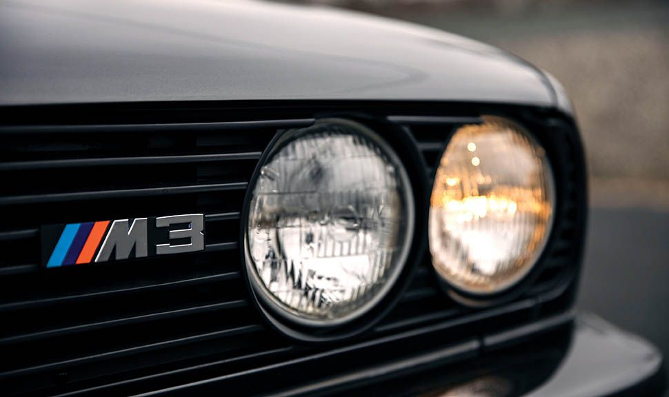 BMW M3 (E30) Detailaufnahme