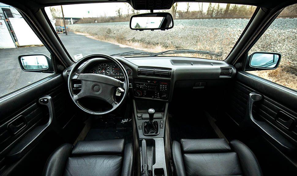 BMW M3 (E30) Innenraum