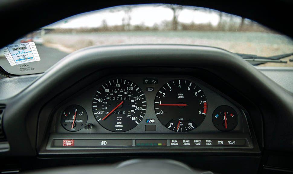 BMW M3 (E30) Instrumente