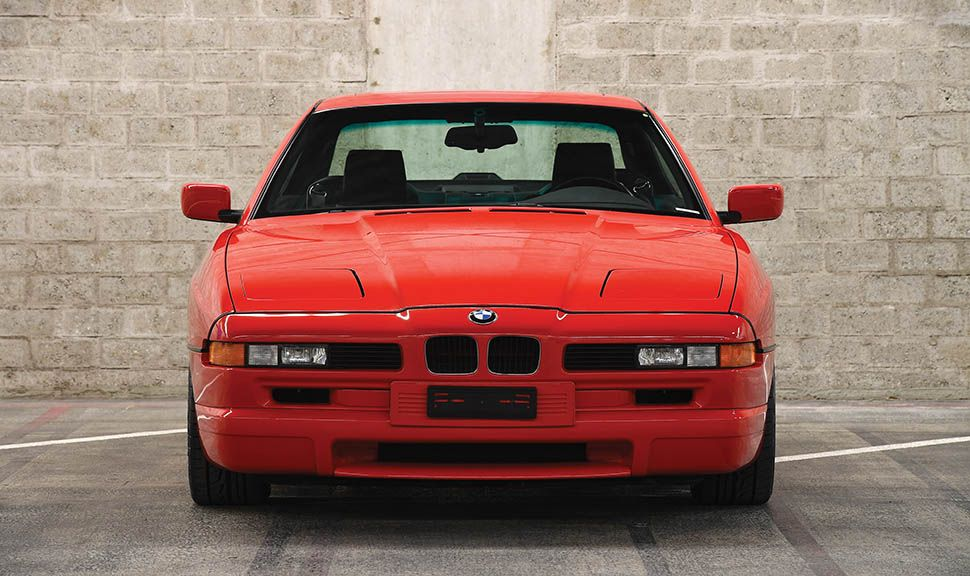 BMW 850 CSi frontal