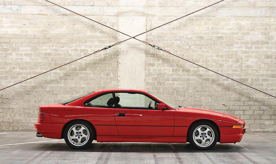 BMW 850 CSi Seitenansicht