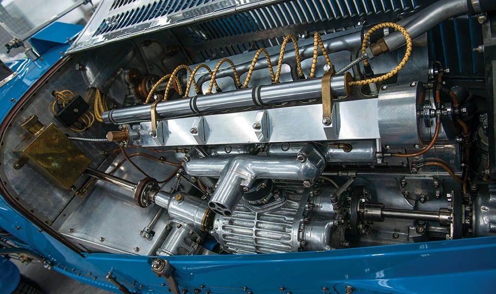 Bugatti Typ 51 Grand Prix Motor