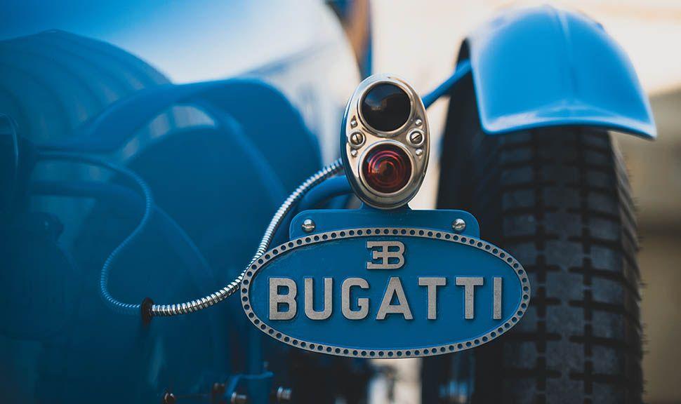 Bugatti Typ 51 Grand Prix Detailaufnahme Heck