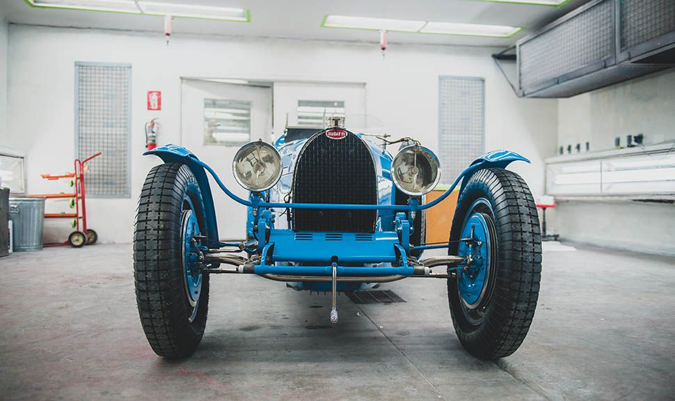 Bugatti Typ 51 Grand Prix frontal