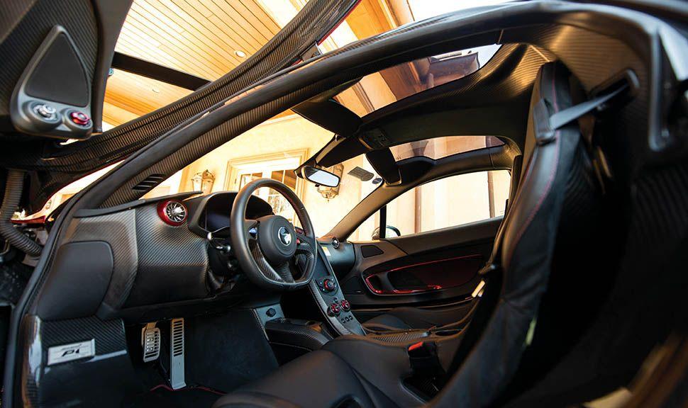 McLaren P1 Innenraum