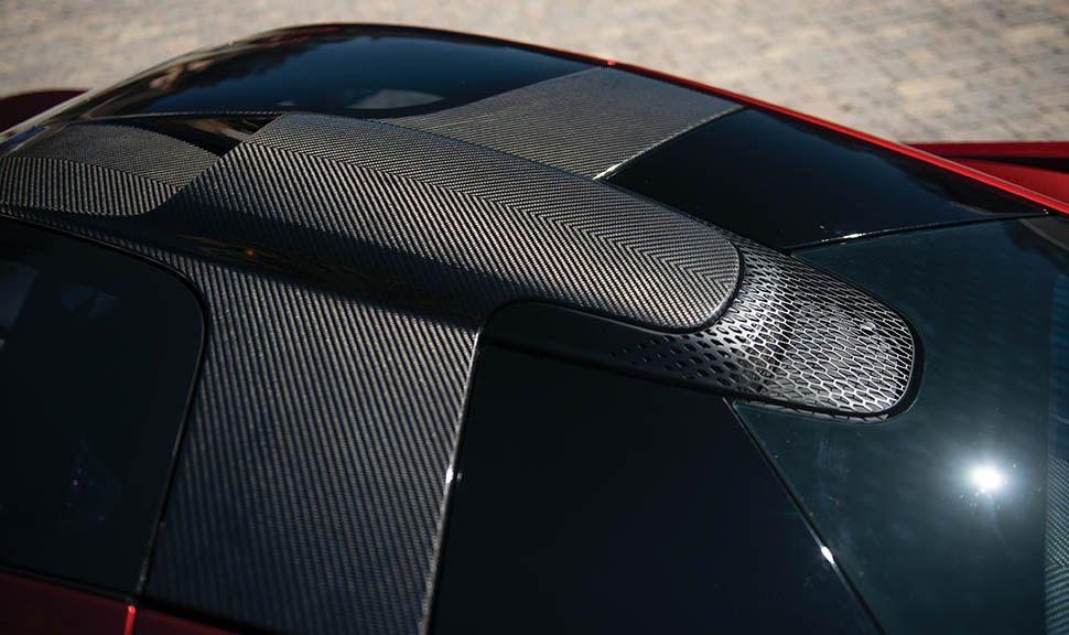 McLaren P1 Dach Detailaufnahme