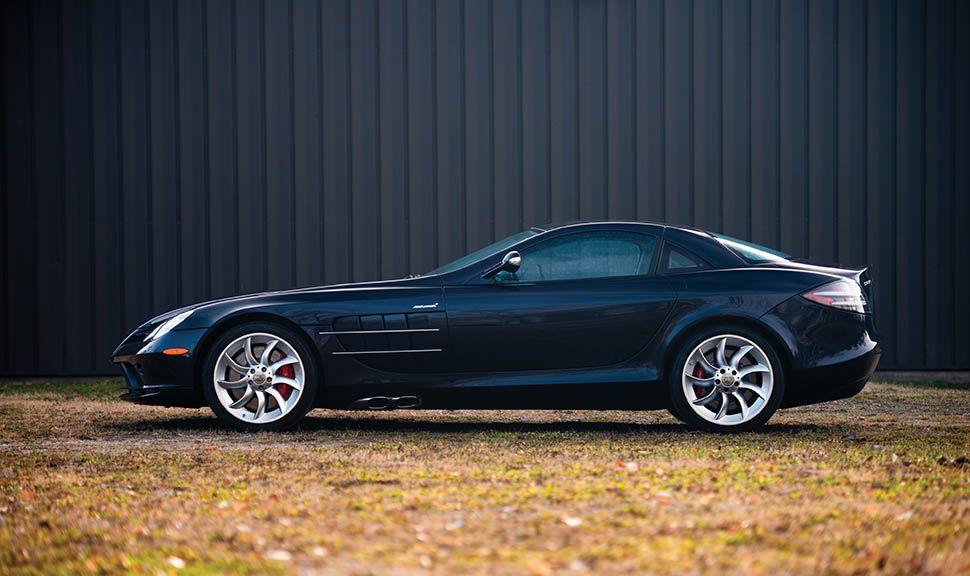 Mercedes-Benz SLR Seitenansicht links