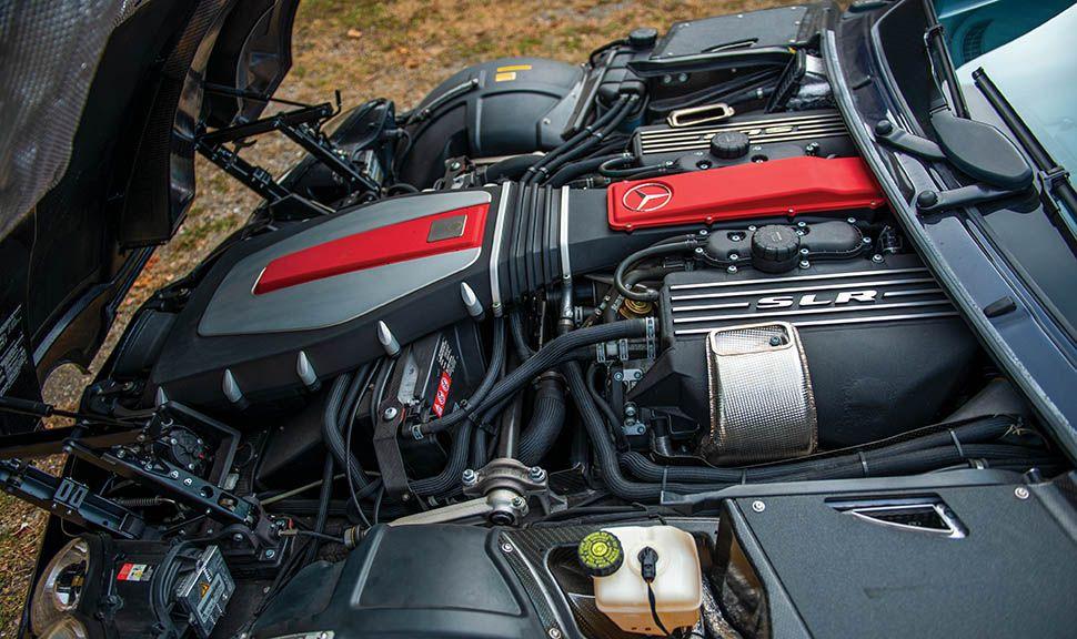 Mercedes-Benz SLR Motor
