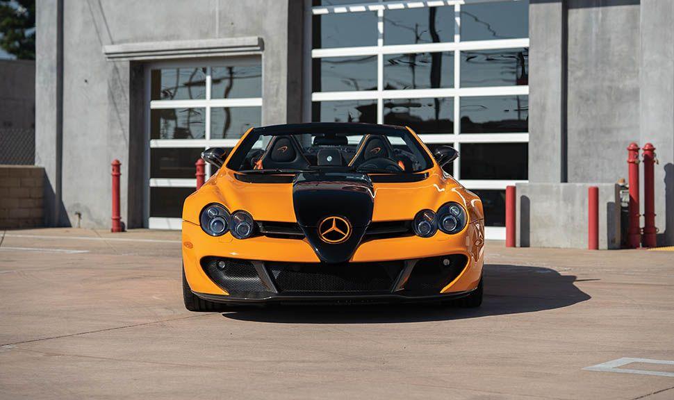 Mercedes-Benz SLR McLaren 722 S McLaren Edition frontal