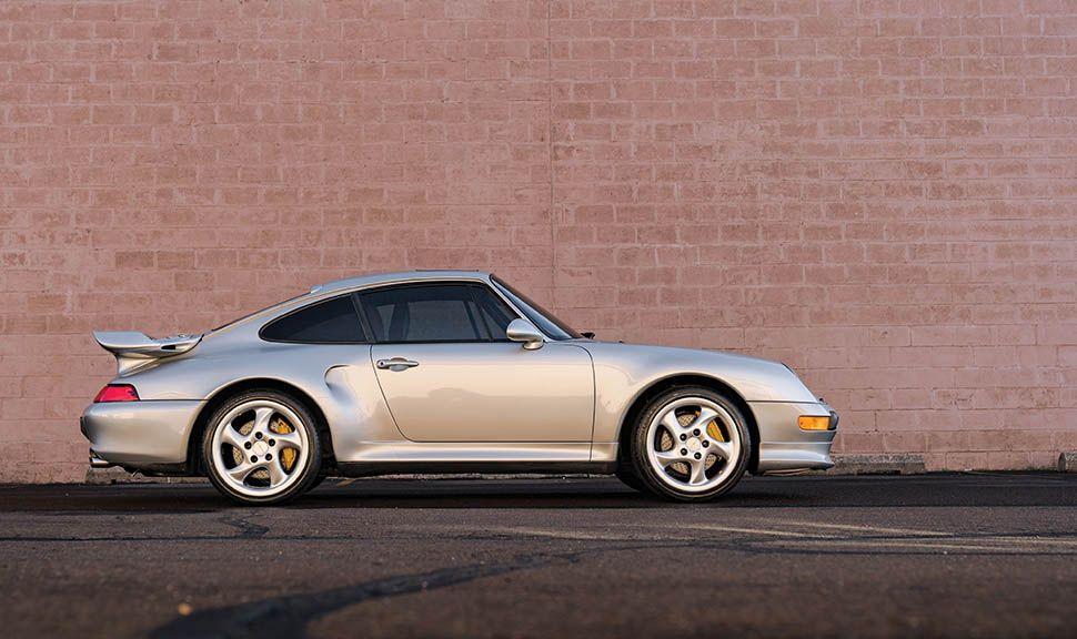 Porsche 911 (933) Turbo S Seitenansicht
