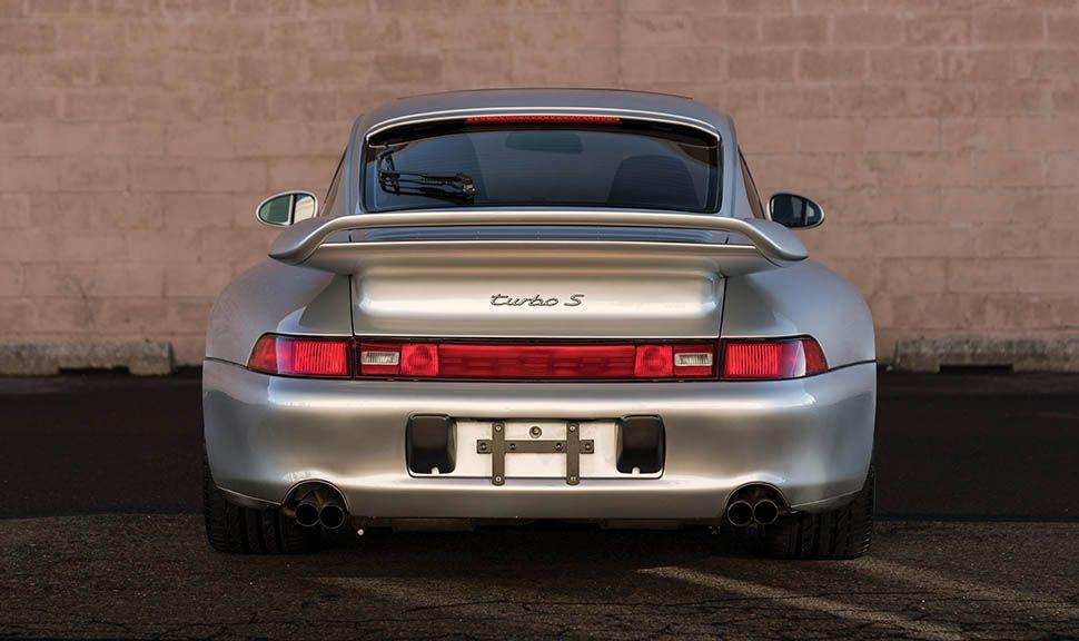 Porsche 911 (993) Turbo S Heck