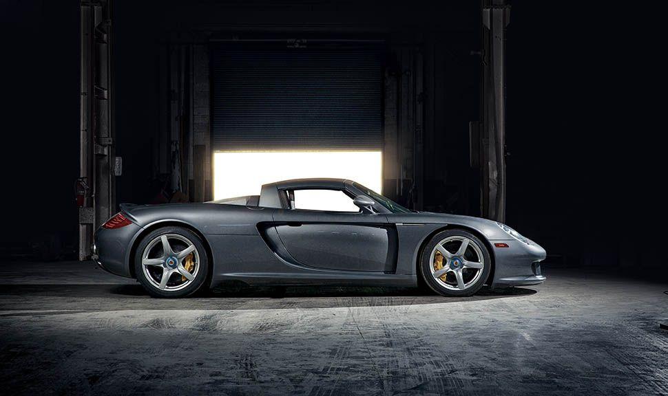 Porsche Carrera GT Seitenansicht rechts