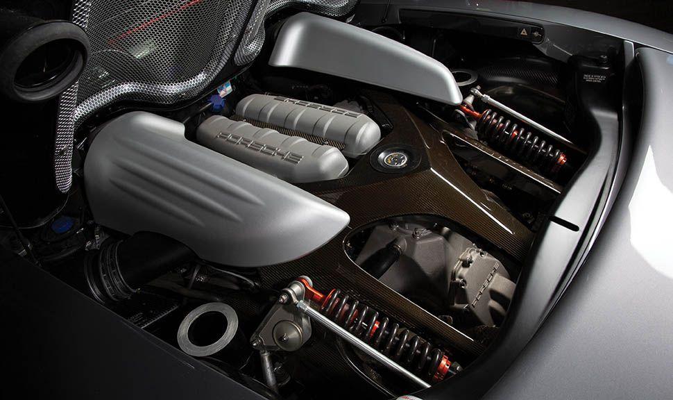 Porsche Carrera GT Motor