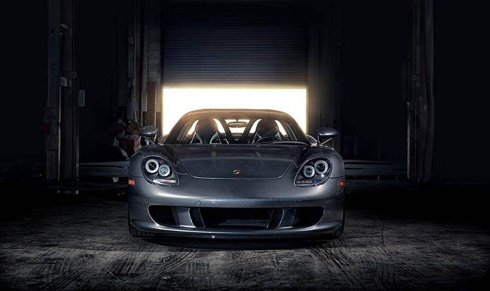 Porsche Carrera GT frontal