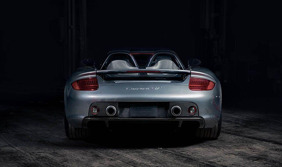 Porsche Carrera GT Heck