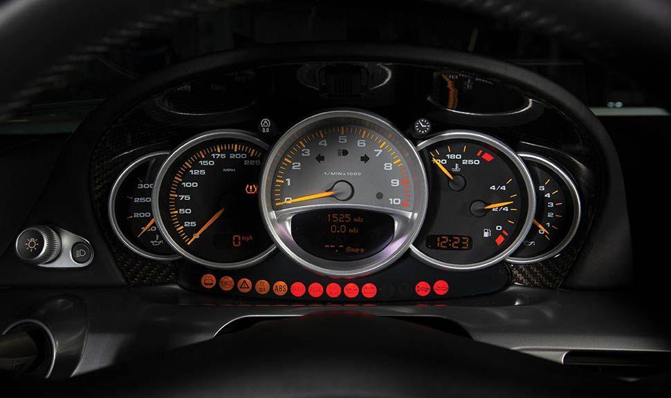 Porsche Carrera GT Rundinstrumente