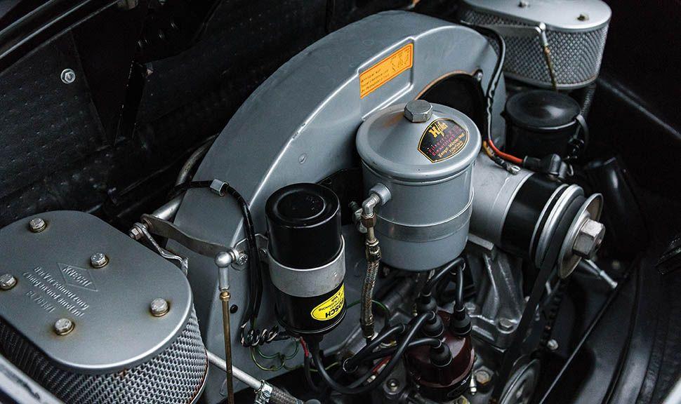 Porsche 356 B Super 90 Roadster Motor