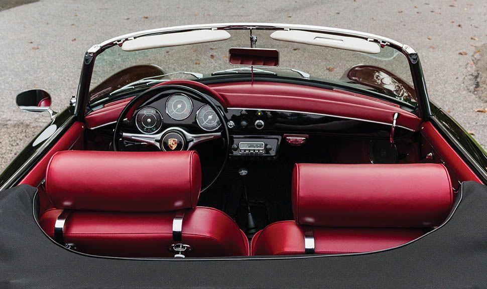 Porsche 356 B Super 90 Roadster Innenraum