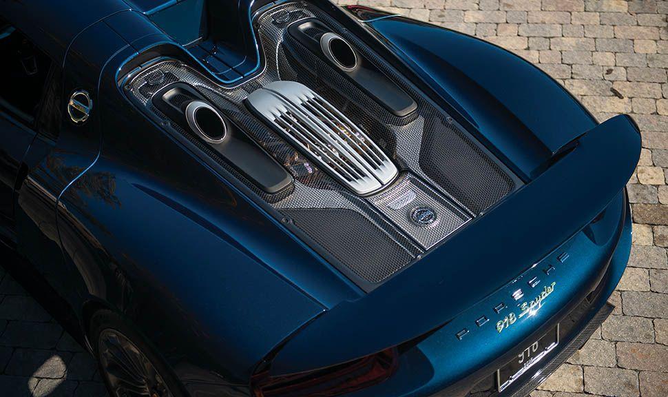 Porsche 918 Spyder Motorhaube