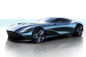 Rendering von Aston Martin DBS GT Zagato