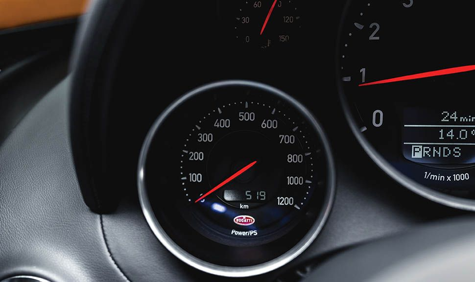 Bugatti Veyron Vitesse Instrumente