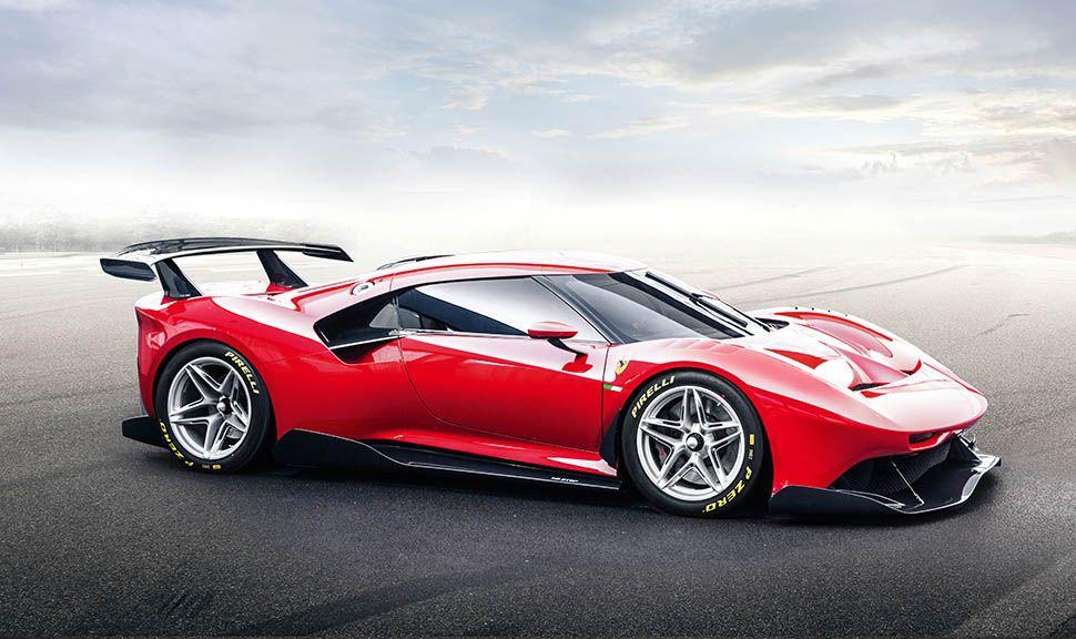 Ferrari P80/C von schräg rechts
