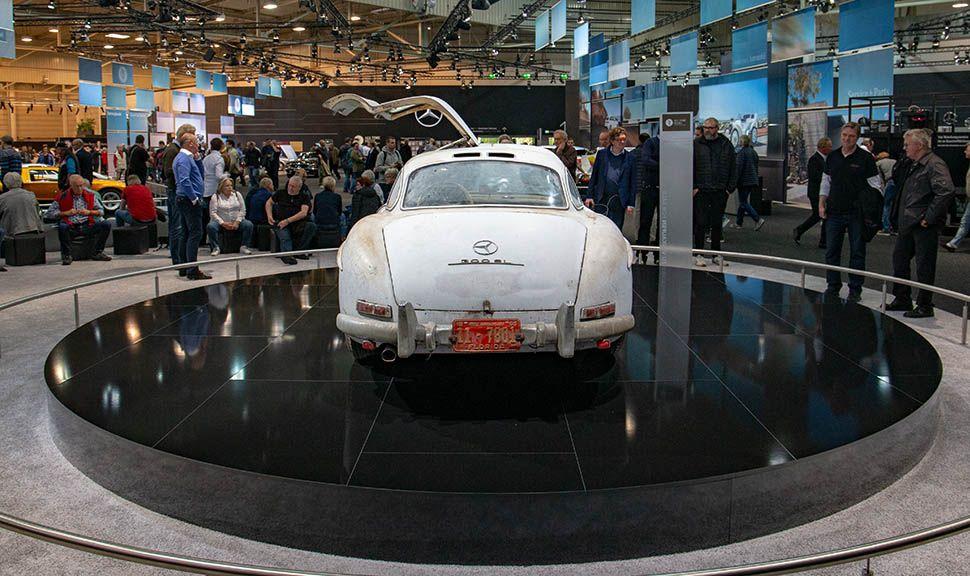 Mercedes-Benz 300 SL Flügeltürer Scheunenfund