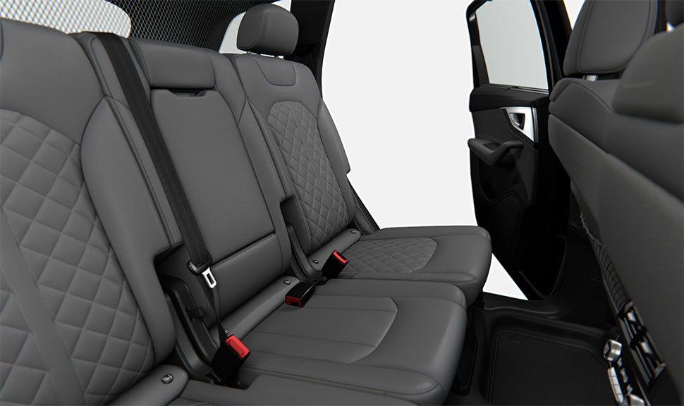 Rückbank des Audi Q7