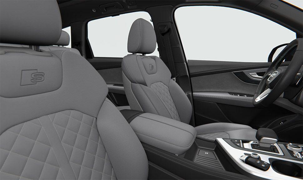 Erste Sitzreihe des Audi Q7