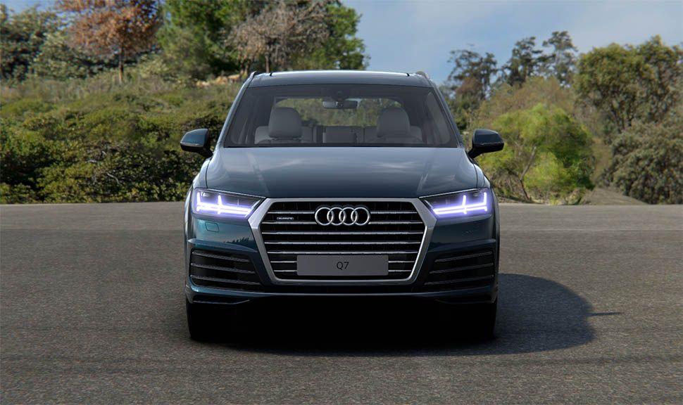 Frontalaufnahme Audi Q7