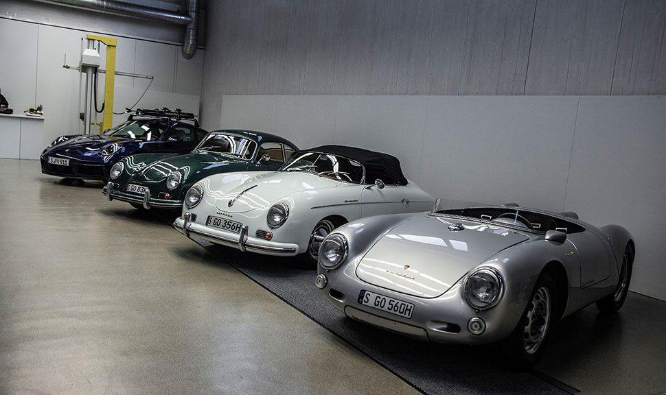 Porsche 911 und Porsche 356