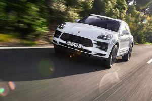 Porsche Cayenne Front