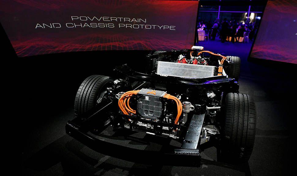 Chassis und Fahrgestell des Ferrari SF90 Stradale
