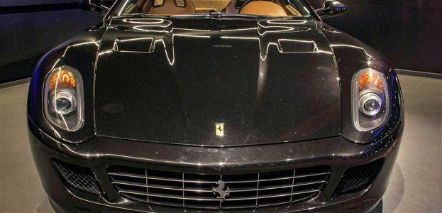 Carbild BeschreibungFerrari 599 GTB nero7999