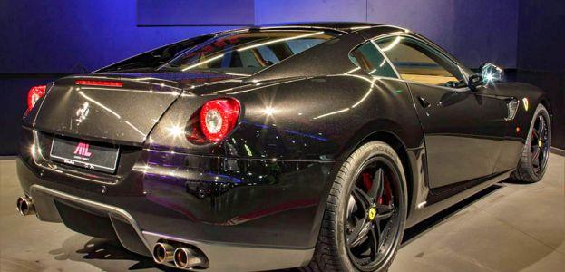 Carbild BeschreibungFerrari 599 GTB nero8001