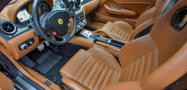 Carbild BeschreibungFerrari 599 GTB nero8002