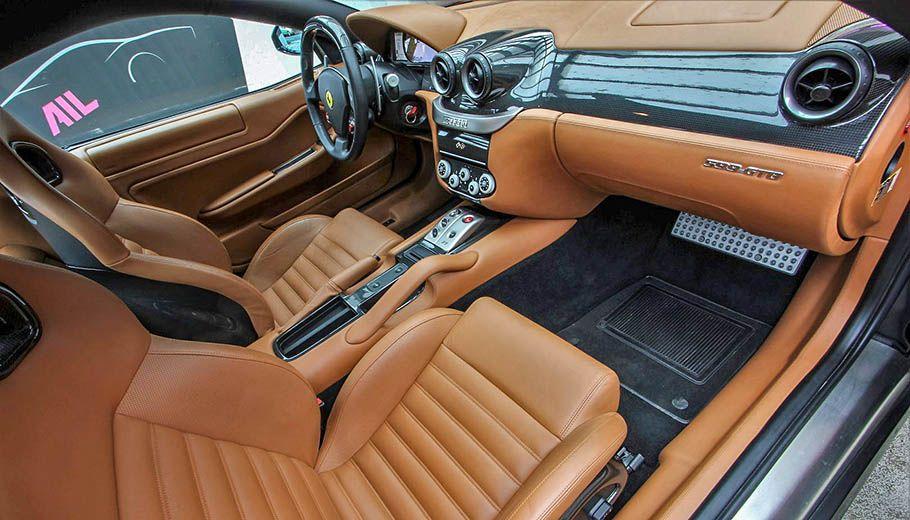 Carbild BeschreibungFerrari 599 GTB nero8003