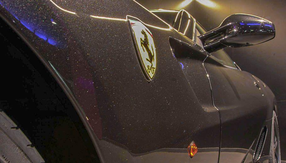 Carbild BeschreibungFerrari 599 GTB nero8010