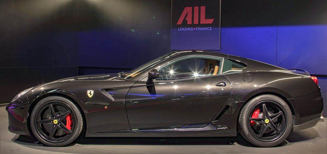 Carbild BeschreibungFerrari 599 GTB nero8011