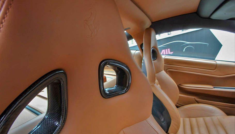 Carbild BeschreibungFerrari 599 GTB nero8012
