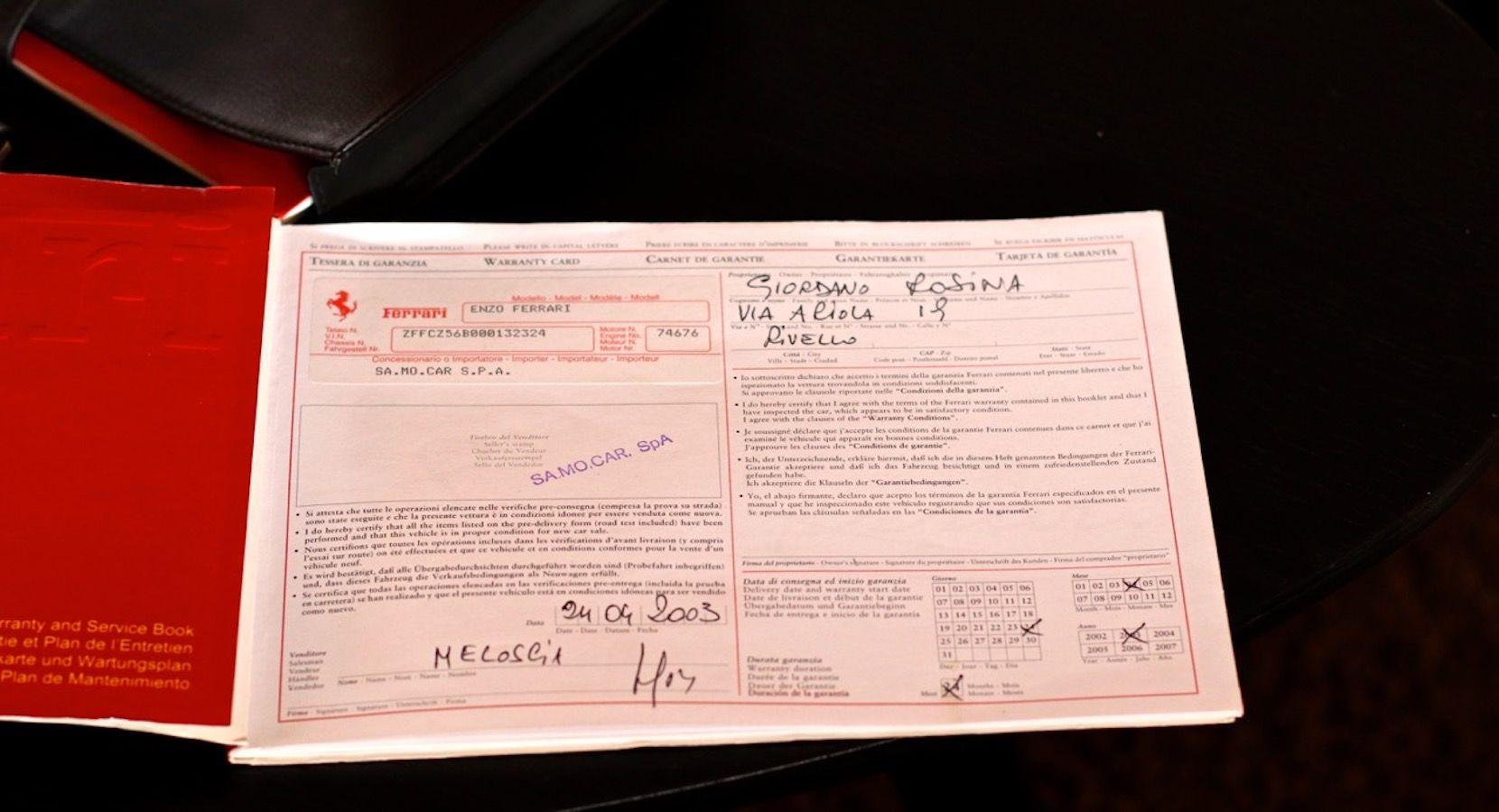 Carbild BeschreibungFerrari Enzo Ferrari8113