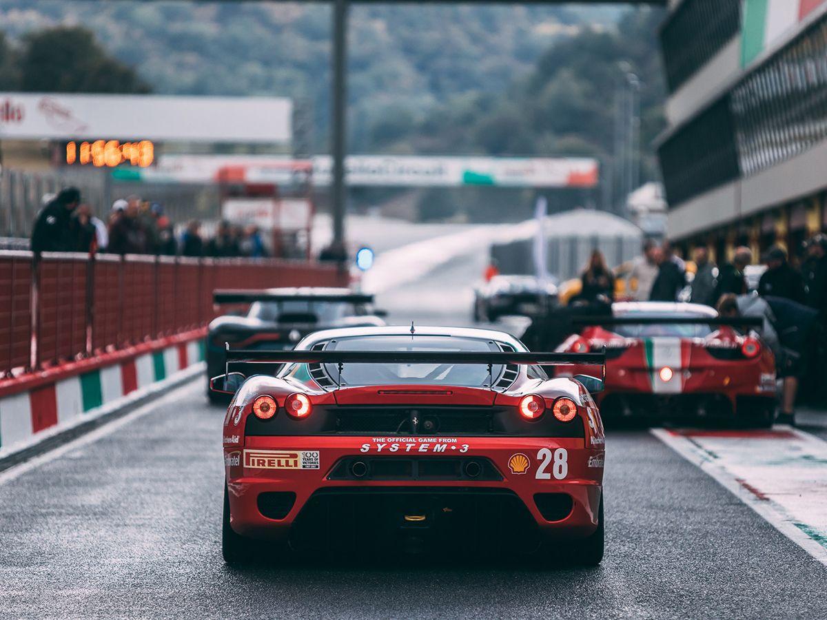 Carbild BeschreibungFerrari F430 Challenge8256