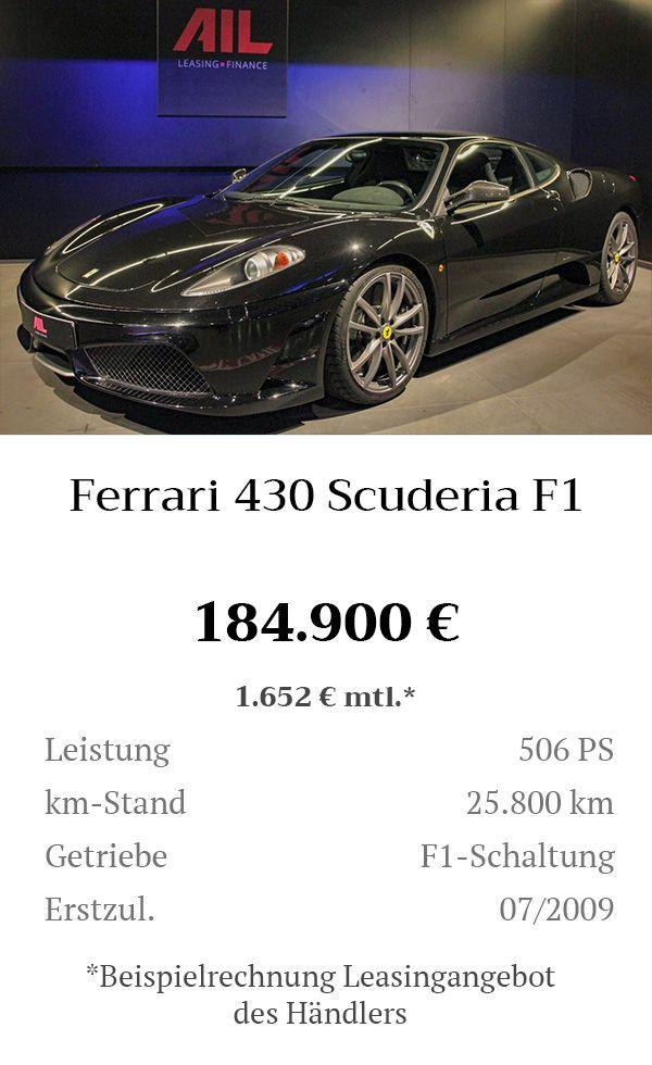 Manual Content Bild Beschreibung Ferrari 430 Scuderia F1 Inserat 8273
