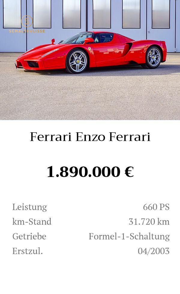 Manual Content Bild Beschreibung Ferrari Enzo Ferrari Inserat 8275