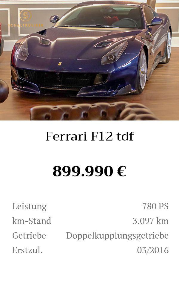 Manual Content Bild Beschreibung Ferrari F12tdf Inserat 8276