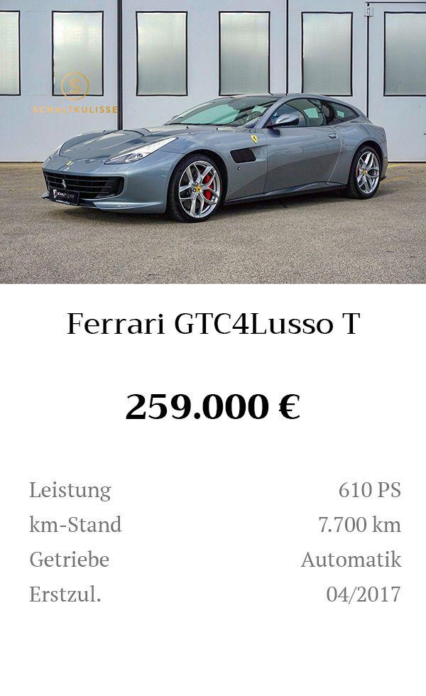 Manual Content Bild Beschreibung Ferrari GTC4Lusso T Inserat 8278