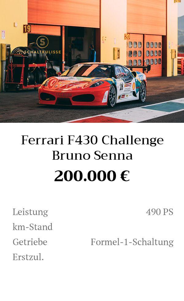 Manual Content Bild Beschreibung Ferrari F430 Challenge Inserat 8281